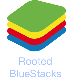 rooted bluestacks